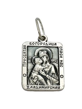 """Серебряная подвеска """"Владимирская"""""""