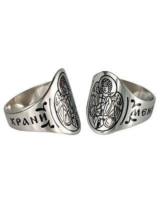 """Серебряное кольцо """"Ангел-хранитель"""""""