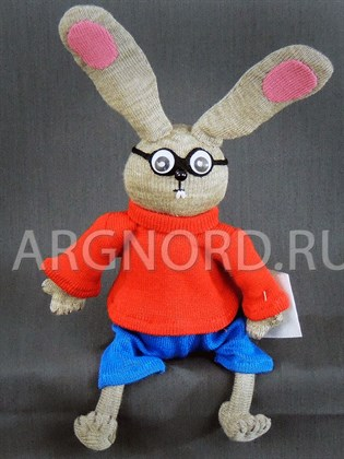 """Игрушка ручной работы """"Кролик"""""""