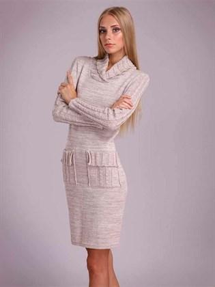 Платье изо льна