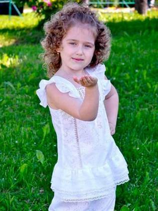 Легкое детское платье