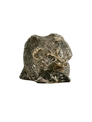 """Стопка-перевертыш из серебра """"Медведь"""""""