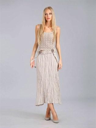 Льняная юбка-сарафан трансформер