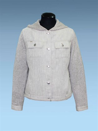 Куртка льняная летняя