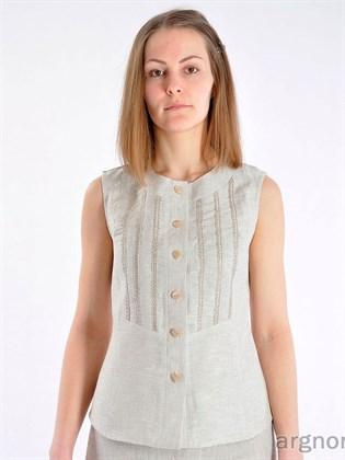 Блуза с тесьмой