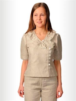 Блуза женская приталенная