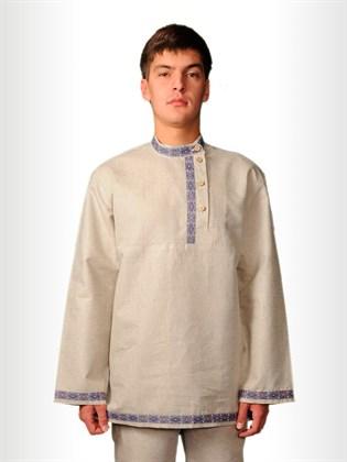 Мужская рубашка - косоворотка с тесьмой