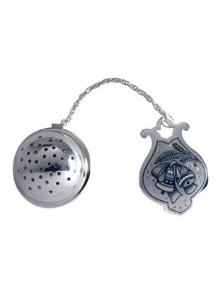 """Ситечко для чая серебряное """"Колокольчики"""""""