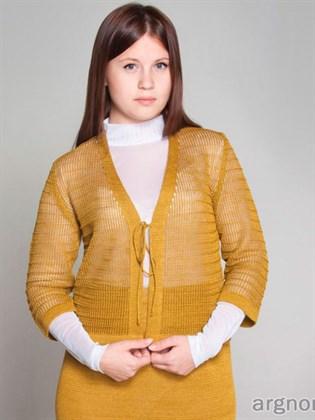 Жакет-накидка изо льна