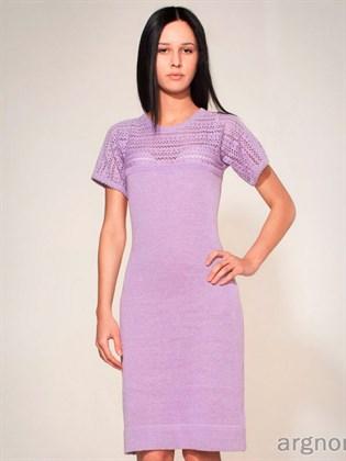 Платье из льна Фиалка