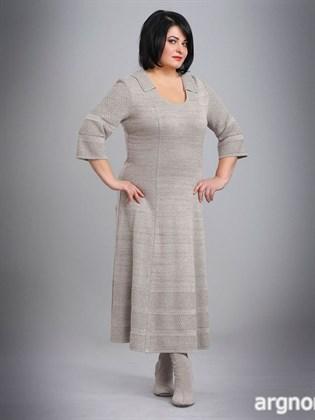 Платье с рукавами три четверти