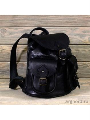Маленький рюкзак из мягкой кожи