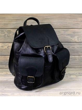Большой рюкзак из мягкой кожи