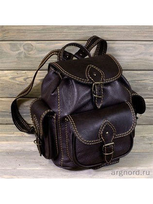 """Малый кожаный рюкзак """"Цезарь"""""""