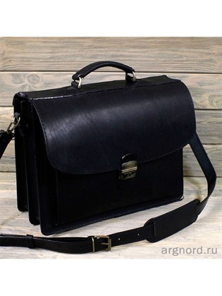 """Кожаный портфель """"Добротный"""""""
