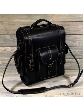 """Кожаная сумка-ранец """"Странник"""""""