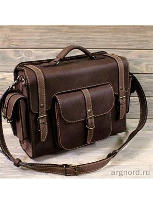 """Горизонтальная сумка-ранец """"Странник"""""""