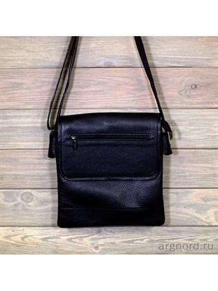 Планшет-сумка из мягкой кожи