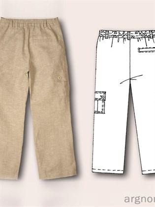 Льняные брюки на мальчика