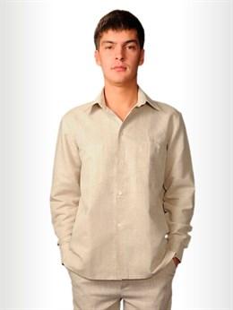 Рубашка мужская классическая с длинным рукавом