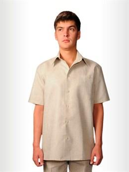 Рубашка мужская классическая с коротким рукавом