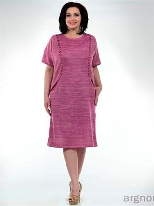 Платье цвета - цикламен