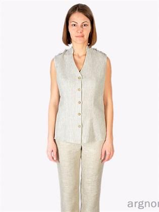 Блуза женская льняная
