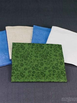 Комплект жаккардовых полотенец из 100 % льна - 5 шт