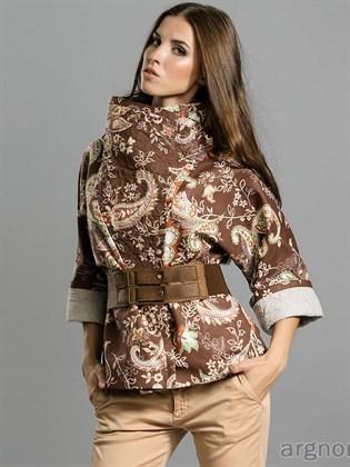 Куртка женская из льняной ткани