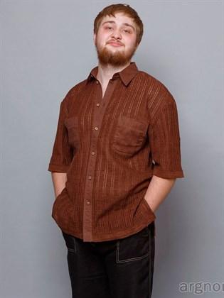 Мужская рубашка с карманами
