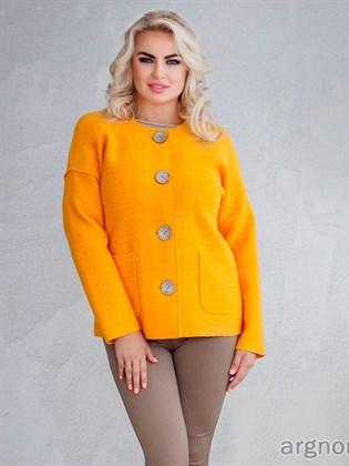 Пальто-куртка из валяного полотна