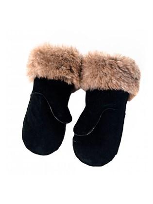 Меховые мужские рукавицы