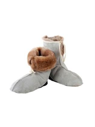 Мужские меховые носки из овчины