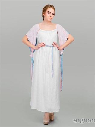 Льняное платье с крыльями