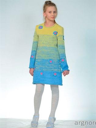 Платье детское из льна