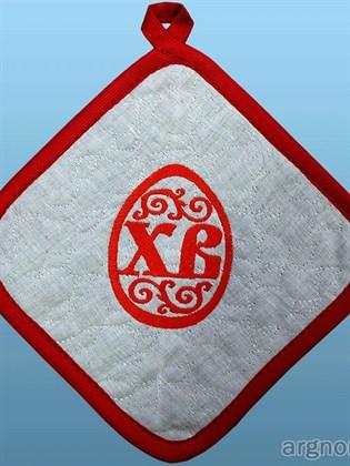Прихватка с символом Пасхи