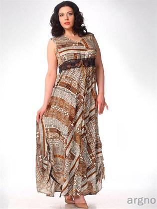 Платье из штапеля № 51