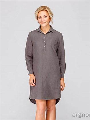 Платье-шемизье (платье-рубашка)