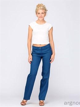Женские льняные брюки