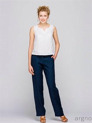 Женские брюки из льна