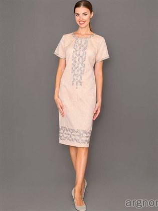 Платье из льна (футляр)