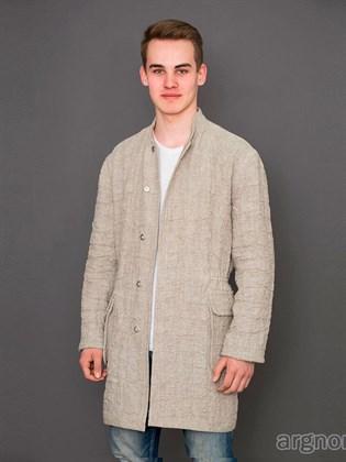Льняная мужская куртка