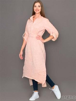 Платье-туника с удлиненной спинкой