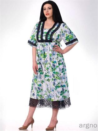 Платье летнее изо льна