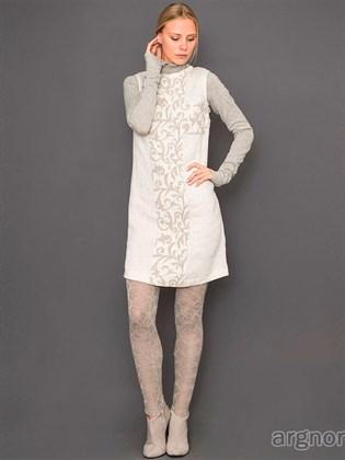 Платье льняное без рукавов