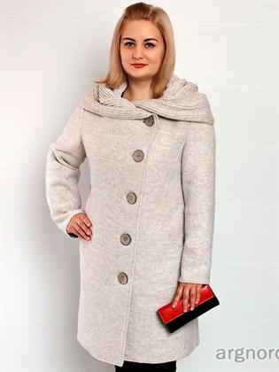 Пальто женское из валяного полотна