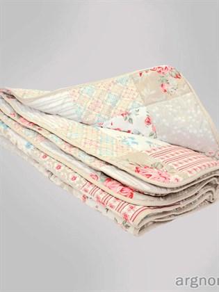 Стёганое одеяло в стиле - пэчворк
