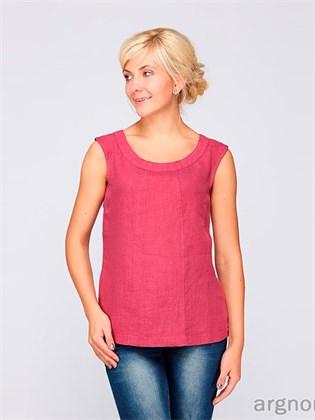 Блуза-топ изо льна