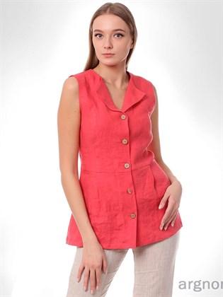 Блуза из вареного льна