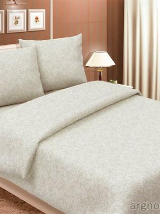 """Комплект постельного белья """"Узор белый""""- полутораспальный"""